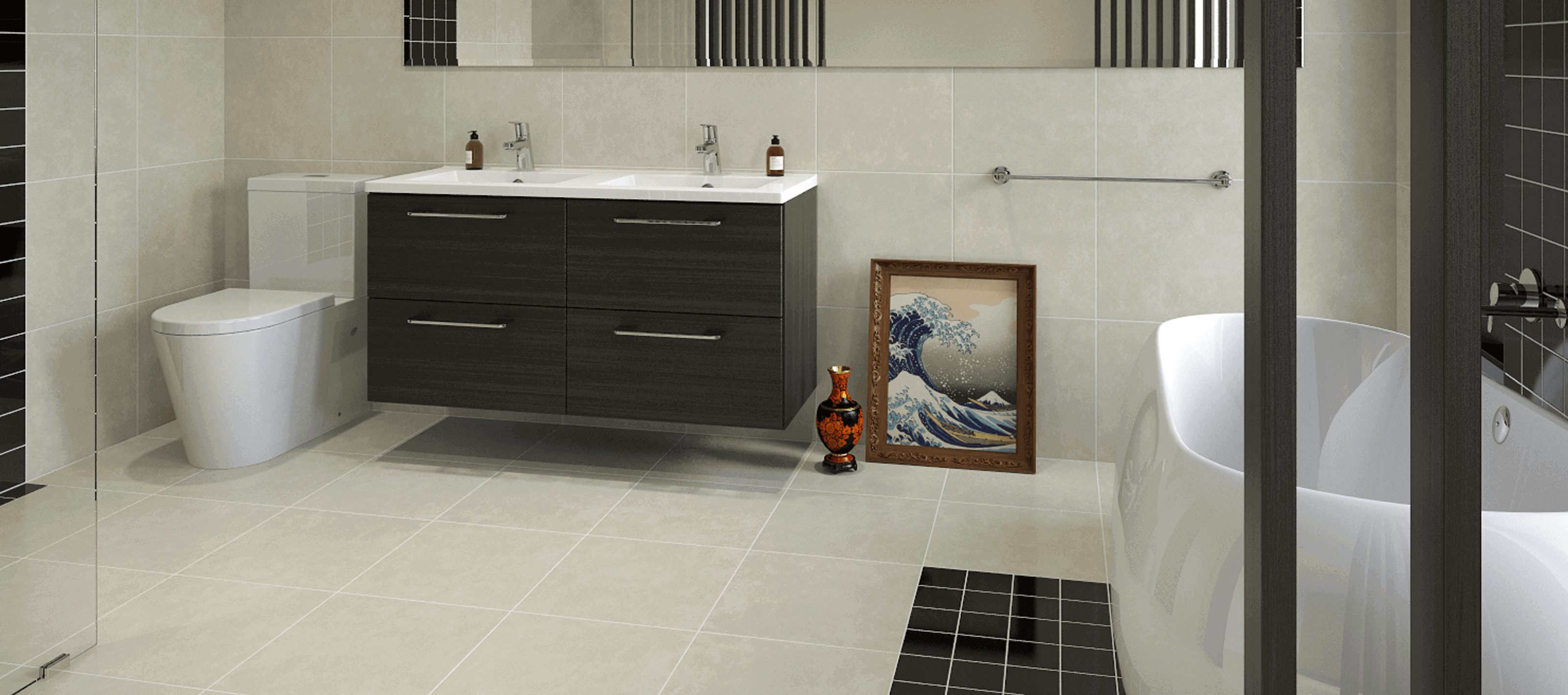 baths basins tiles vanities