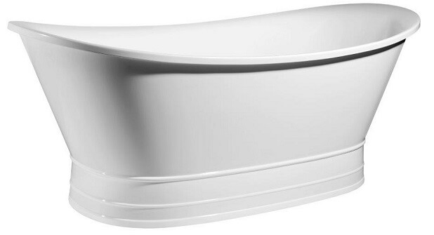 Apollo 1745 White Freestanding Bath