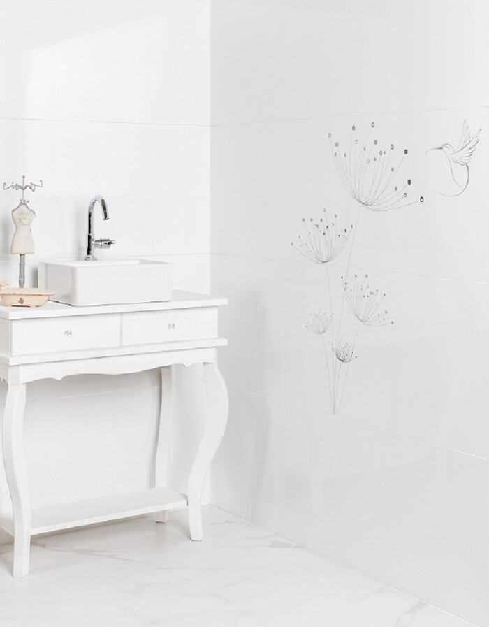 Diamante Branco wall tiles