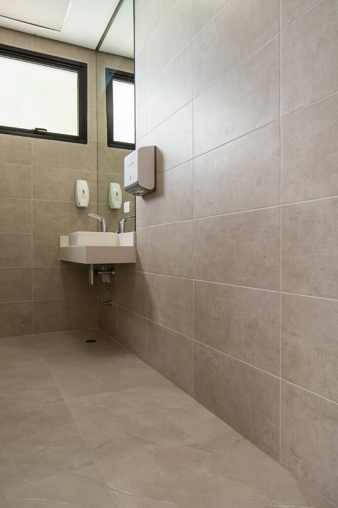 gray tiles for bathroom