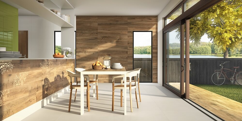 kitchen tiles wood