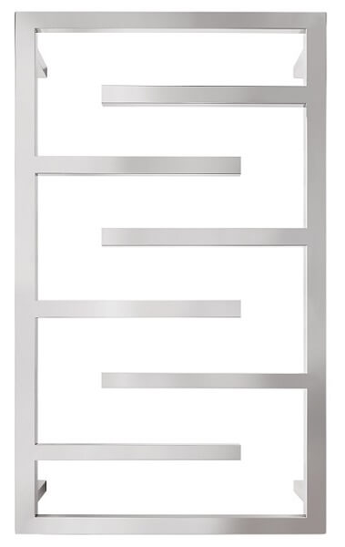 Forme Frame 6 Bar Square Heated Towel Rail