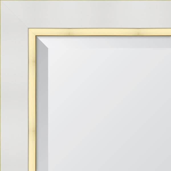 Rectangle Mirror Brushed Gold Pvd 900mm Mirrors Forme Bathroom Collection